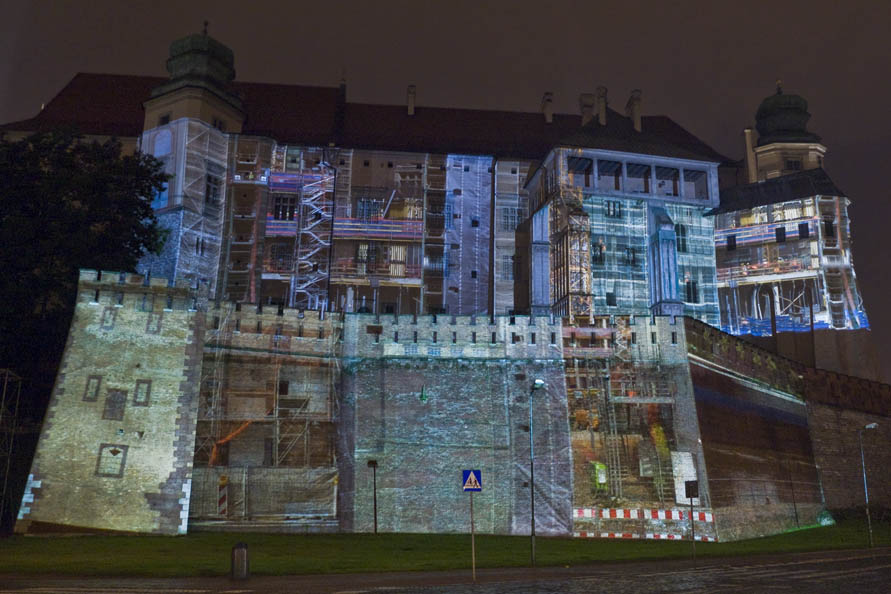 WAWEL-Projektion-Ansicht_Krakau-2011